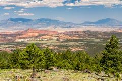 Mooi, kleurrijk landschap in Arizona Stock Foto's