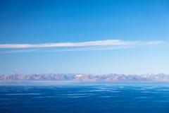 Mooi koud landschapsbeeld van lagunebaai Royalty-vrije Stock Fotografie