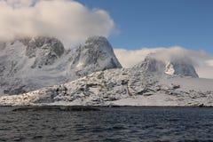 Mooi landschap in Antarctica Stock Afbeeldingen