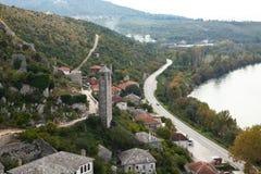 Mooi landschap in Bosnië-Herzegovina Stock Afbeeldingen