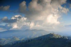 Mooi landschap in de winter in Chiangmai Royalty-vrije Stock Foto's