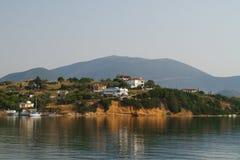 Mooi landschap in Griekenland Stock Foto's