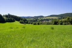 Mooi landschap in het land Royalty-vrije Stock Foto's