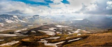 Mooi landschap in IJsland Royalty-vrije Stock Fotografie