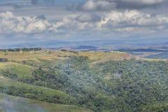 Mooi landschap kenmerkend voor Gran Sabana - Venezue stock fotografie