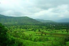 Mooi landschap Mahabaleshwar royalty-vrije stock afbeeldingen