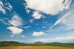 Mooi landschap op berg Royalty-vrije Stock Fotografie