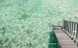 Mooi landschap op Maledivische eilanden Royalty-vrije Stock Afbeeldingen