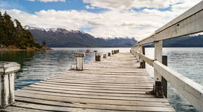 Mooi landschap in Patagonië, Argentinië Stock Foto's
