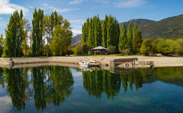 Mooi landschap Patagonië Argentinië Stock Afbeeldingen