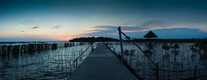 Mooi landschap in Thailand Royalty-vrije Stock Foto