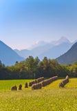 Mooi landschap in tirolean stock foto