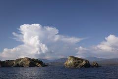 Mooi landschap in Turkije stock afbeeldingen