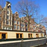 Mooi landschap van Amsterdam royalty-vrije stock afbeelding