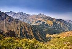 Mooi landschap van bergen Royalty-vrije Stock Fotografie
