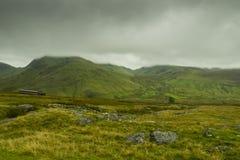 Mooi landschap van het Nationale Park van Snowdonia Stock Foto