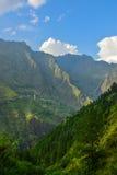 Mooi landschap van Himalayagebergte Stock Afbeelding