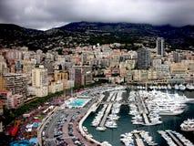 Mooi landschap van Monaco Stock Afbeeldingen
