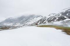 Mooi landschap van Noorwegen. Stock Afbeeldingen