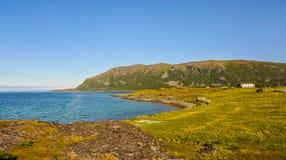 Mooi landschap van Noorwegen royalty-vrije stock foto