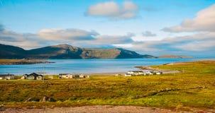 Mooi landschap van Noorwegen royalty-vrije stock foto's