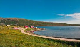 Mooi landschap van Noorwegen royalty-vrije stock afbeeldingen