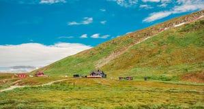 Mooi landschap van Noorwegen stock fotografie