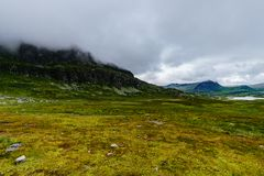 Mooi landschap van Noorwegen Europa Scandinavië Stock Afbeelding