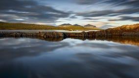 Mooi landschap van Noorwegen, Scandinavië, aard Stock Foto