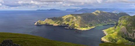 Mooi landschap van Noorwegen, Scandinavië, aard Stock Afbeelding