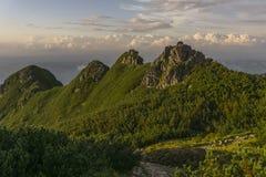 Mooi landschap van Westelijke Tatra-bergen Royalty-vrije Stock Fotografie