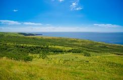 Mooi landschap van Zuid-Maui, Eiland Hawaï Royalty-vrije Stock Afbeelding