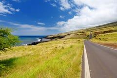 Mooi landschap van Zuid-Maui Het achtereind van Haleakala-Krater op het Eiland Maui, Hawaï royalty-vrije stock foto