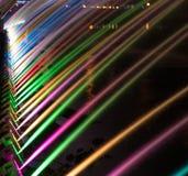 Mooi magisch abstract patroon van gekleurde straalfontein over Royalty-vrije Stock Afbeelding