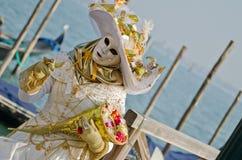 Mooi masker in Venetië Stock Foto
