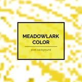 Mooi Meadowlark Square Background royalty-vrije illustratie