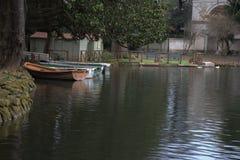 Mooi meer in Italië Stock Foto's