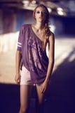 Mooi Meisje Blondie Royalty-vrije Stock Afbeelding