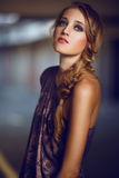 Mooi Meisje Blondie Royalty-vrije Stock Fotografie