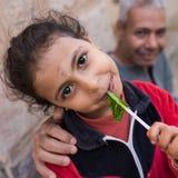 Mooi meisje - Egyptenaar royalty-vrije stock foto's