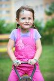 Mooi meisje met de Waterpokken stock afbeeldingen