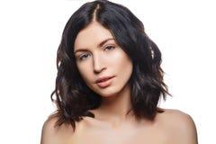 Mooi meisje met natuurlijke make-up Stock Foto