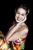 Mooi Meisje Prom stock foto