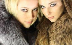 Mooi meisje twee Royalty-vrije Stock Fotografie