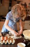 Mooi meisjebaksel Stock Fotografie