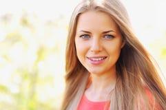 Mooi meisjesgezicht royalty-vrije stock fotografie