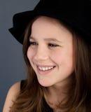 Mooi meisjesportret Stock Foto