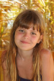 Mooi meisjesportret royalty-vrije stock afbeelding