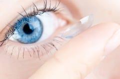 Mooi menselijk oog Stock Foto
