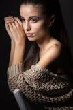 Mooi Modelportret Royalty-vrije Stock Afbeeldingen